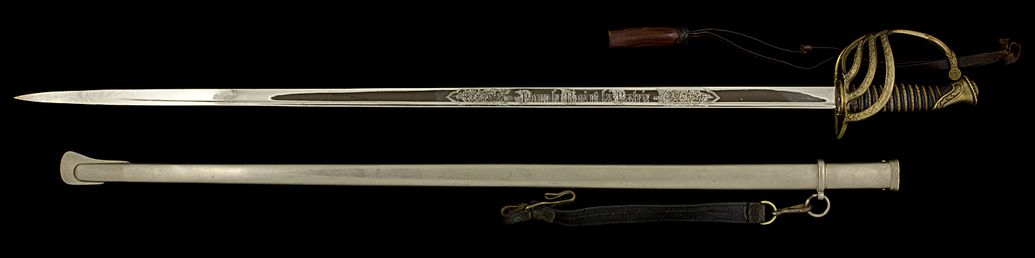 S000006_Belgian_ERM_Sword_Full_Obverse_Next_to_Scabbard